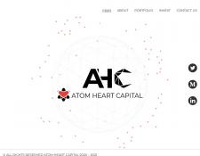 AtomHeart - вёрстка сайта