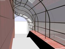 Перекрытие входной группы в подвал
