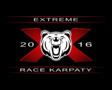 "логотип ""EXTREME RACE KARPATY"""