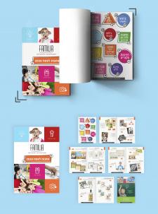 Дизайн каталога товаров фирмы Family Studio