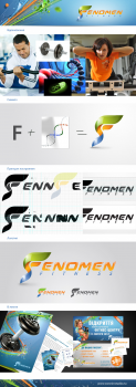 "Логотип для фитнес-клуба ""Fenomen fitness"""