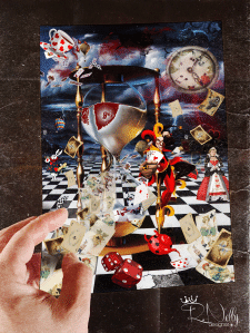 Тема: Сюрреалистический АРТ Алиса в зазеркалье