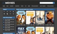 Верстка сайта для фильмов