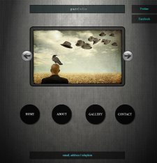 Дизайн сайта для портфолио фотографа