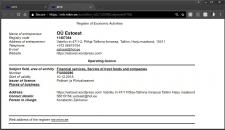 Регистрация фирмы в Эстонии