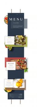 """Пример работы Landing Page """"Restaurant menu"""""""