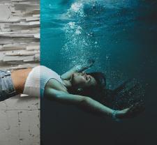 Underwater \ фоторед., ретачинг \ до-после