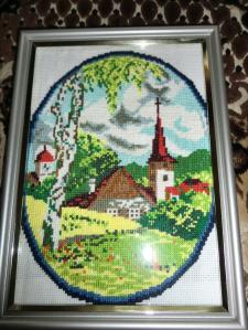 "Картина ""Домик в деревне. Лето"""