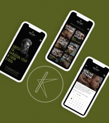 Дизайн моб. приложения для Barbershop Old boy