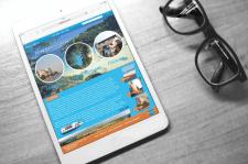Дизайн сайта о путешествиях в Майорку