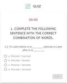 Тесты Quiz