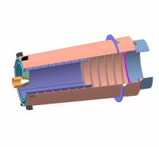Бутара левая (мельница ММС-70х23)