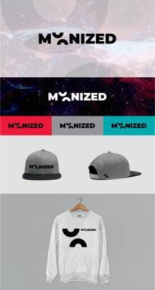 Логотип MOONIZED Бренд Одежды