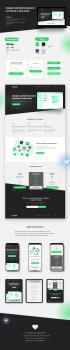 Дизайн сайта. Сервиса автоматического постинга