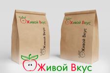 Дизайн логотипа для компании Живой Вкус
