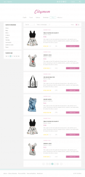 Citymom — Shop page (list view)
