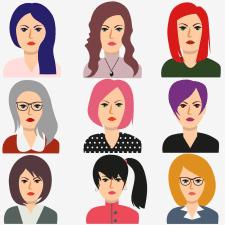 Женские аватары