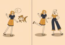 мінімалістичні ілюстрації