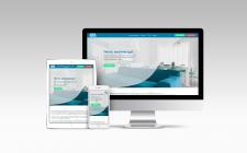 Сайт на Тильда для клининговой компании