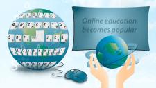 Баннер на тему онлайн образование