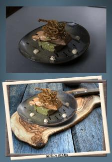 Фуд обработка фото еды