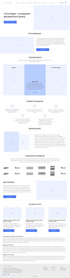 Прототипирование сайта - каталога