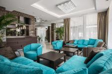Отель Аврора ресепшн зона отдыха