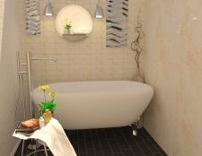 Ванна комната (Квартира-студия)