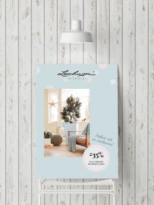 Постер для офлайн-магазина Lechuza
