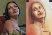 Портрет моей жены.