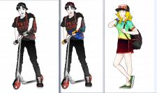 Разработка Маскота персонажей для сайта по продаже