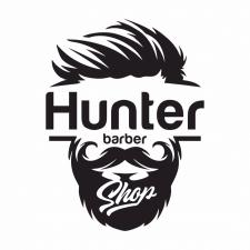 "Логотип барбер-шопа ""Hanter"""