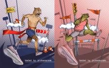 Иллюстрации Nike
