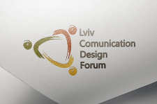 логотип Lviv comunication design forum