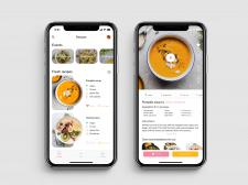Recipe iOS app (concept)