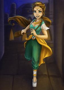 Роксолана -персонаж для мультфильма - 2 вариант