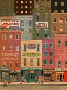 Винтажная иллюстрация. Нью Йорк
