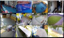 Локальная сеть и видеонаблюдение для спорткомплекс