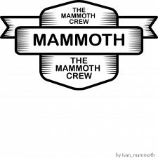 logo mammoth crew
