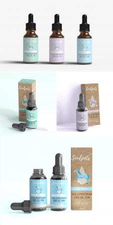 Soulpets. Дизайн упаковки и этикетки