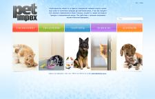 Дизайн сайта компании PetImpex