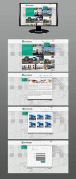 дизайн сайта (архитектурного бюро)
