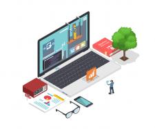 Ізометрія SVG анімація для сайту та додатку