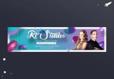 """Обложка для группы """"RT Studio"""""""