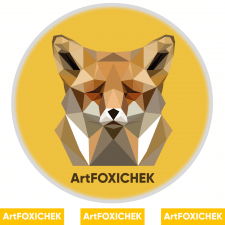 Логотип ArtFoxichek
