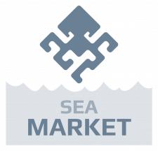 Логотип магазина морской рыбы