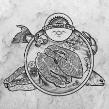 Логотип для магазина морепродуктов