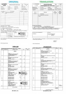 Перевод таможенной документации