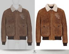 Обтравка куртки
