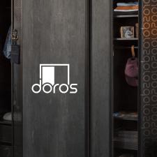 Логотип для крупной компании шкафов-купе Doros